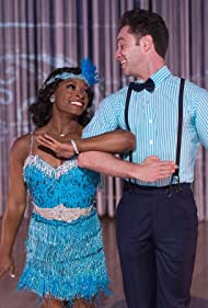 Sasha Farber and Simone Biles in Dancing with the Stars (2005)