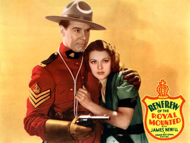 Movie Poster 1937 Renfrew of the Royal Mounted