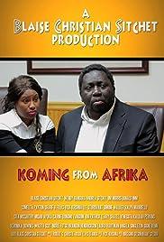 Koming from Afrika Poster