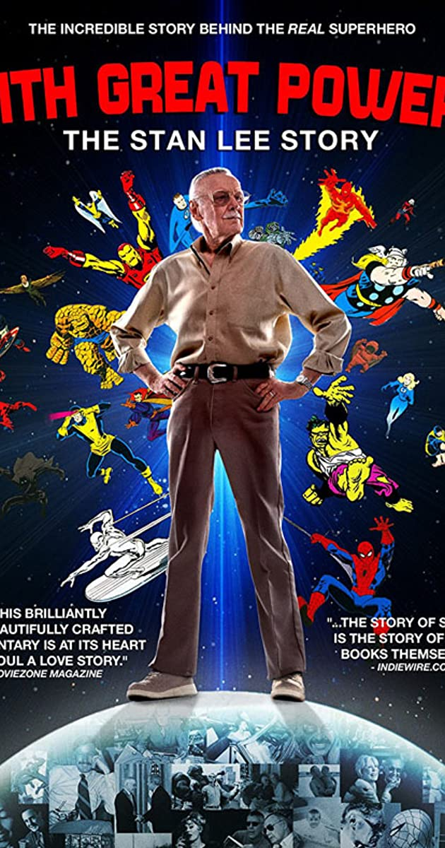 With Great Power The Stan Lee Story 2010 Imdb