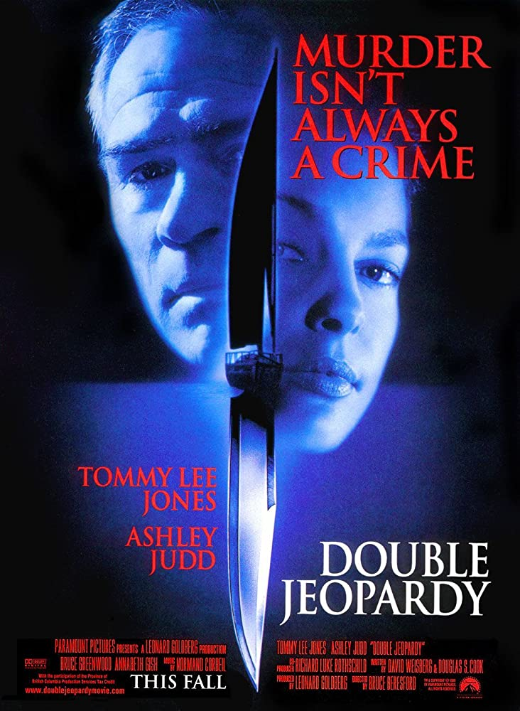 Double Jeopardy 1999 Hindi Dual Audio 480p BluRay 400MB ESubs x264 AAC