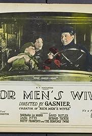 Poor Men's Wives Poster