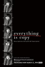 Nora Ephron in Everything Is Copy (2015)