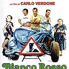 Elena Fabrizi, Carlo Verdone, and Milena Vukotic in Bianco, rosso e Verdone (1981)