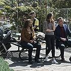Brad Garrett, Leighton Meester, Kimrie Lewis, and Jake Choi in Single Parents (2018)
