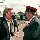 Oleg Basilashvili and Eldar Ryazanov in Vokzal dlya dvoikh (1983)