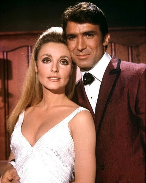 Sharon Tate and Tony Scotti in Valley of the Dolls (1967)
