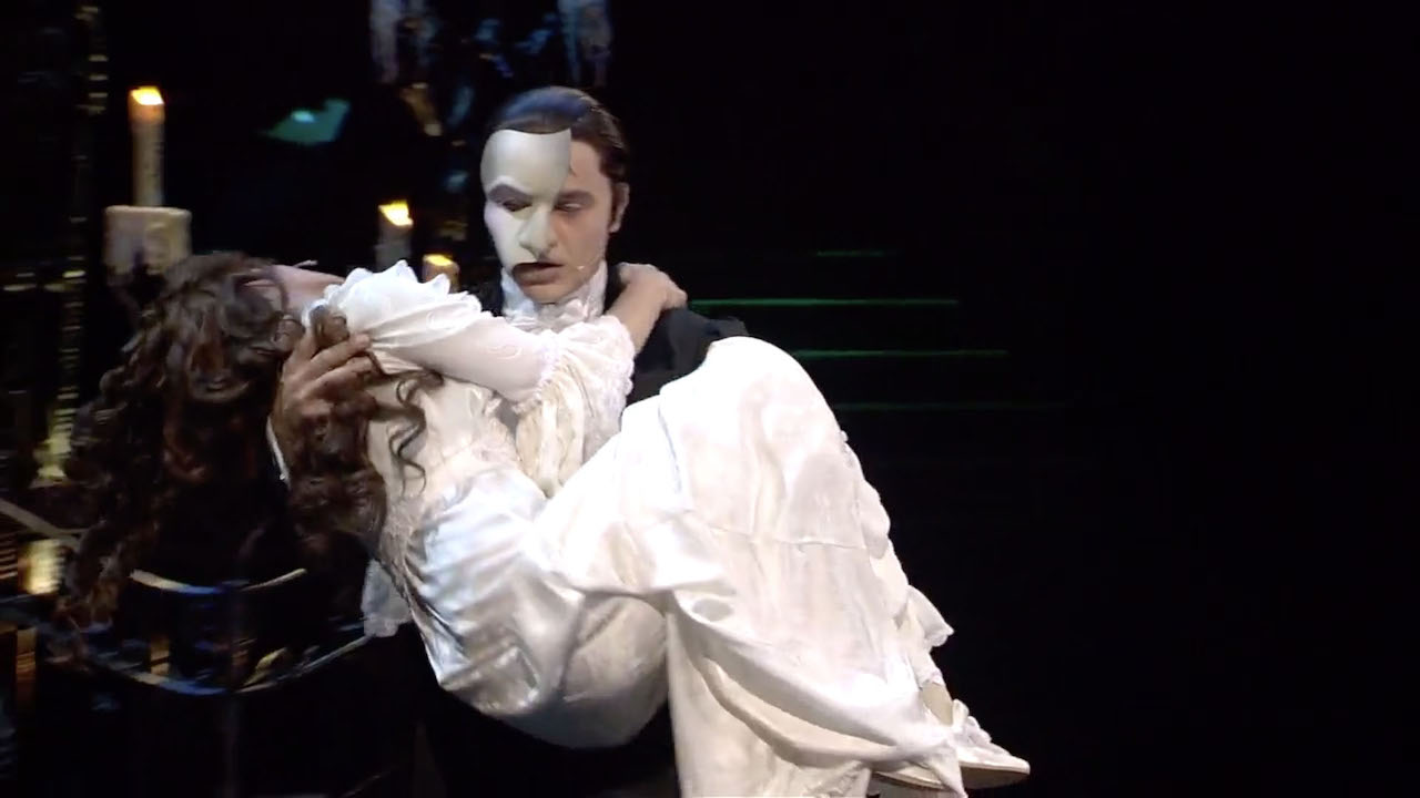 Ramin Karimloo and Sierra Boggess in The Phantom of the Opera at the Royal Albert Hall (2011)
