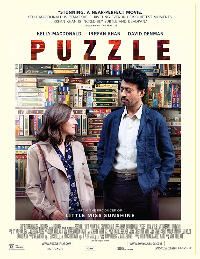 Puzzle (2018) English 300MB HDRip 480p English Subtitle