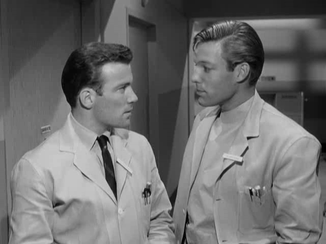 Richard Chamberlain and William Shatner in Dr. Kildare (1961)