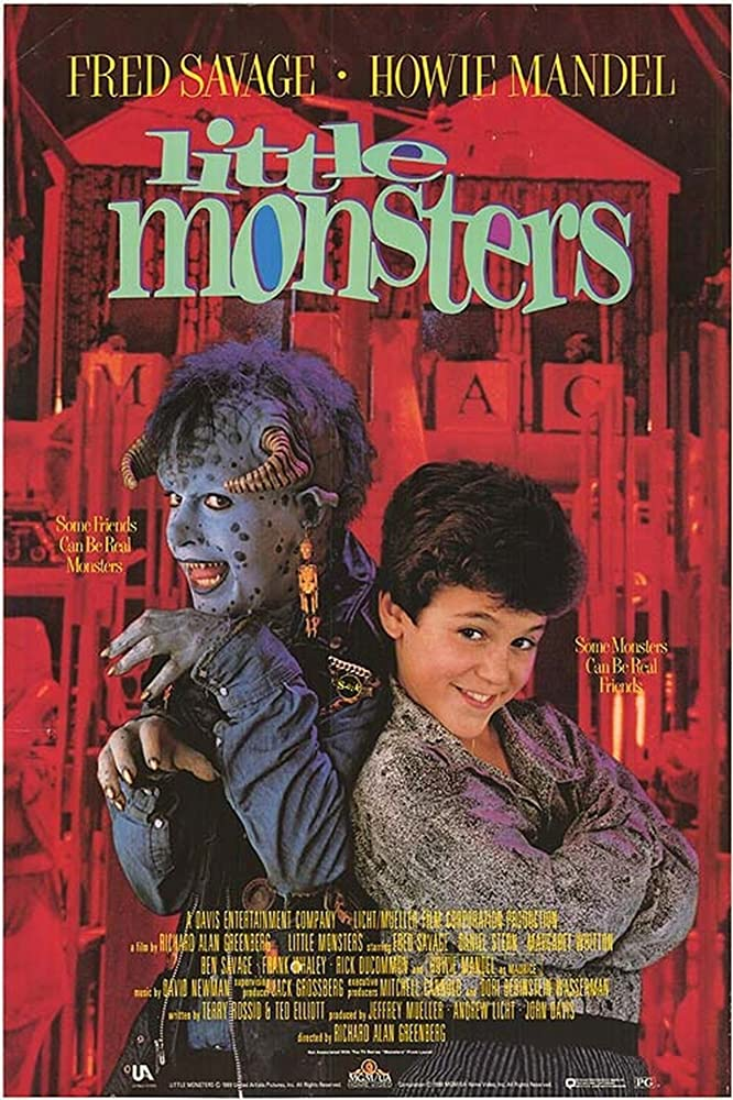 Fred Savage and Howie Mandel in Little Monsters (1989)