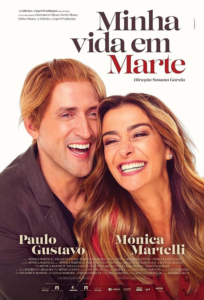 Mônica Martelli and Paulo Gustavo in Minha Vida em Marte (2018)