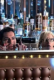 Rachael Harris and Tom Ellis in Lucifer (2016)