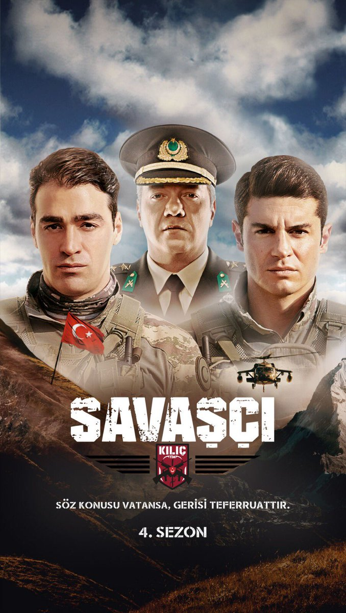 Murat Serezli, Sarp Levendoglu, and Berk Oktay in Savasci (Warrior) (2017)