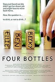 Four Bottles Poster