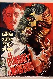 El hombre y el monstruo Poster