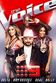 Boy George, Kelly Rowland, Seal, and Delta Goodrem in The Voice (2012)