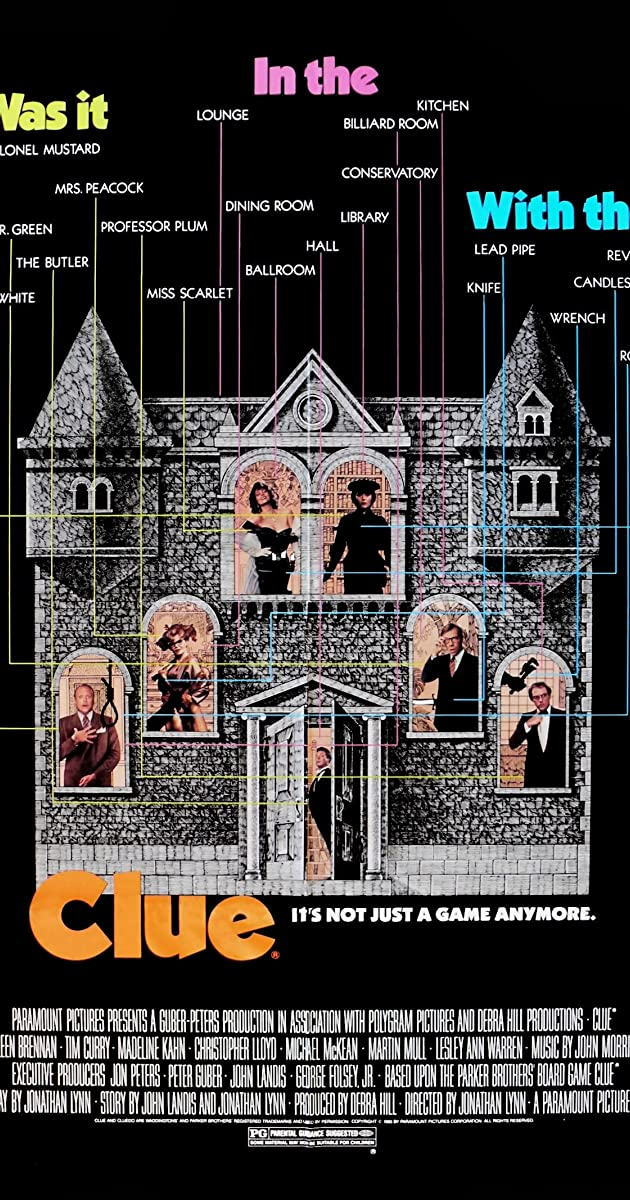 Clue 1985 Imdb