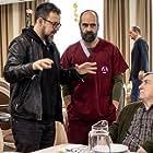Xan Cejudo, Paco Plaza, and Luis Tosar in Quien a hierro mata (2019)