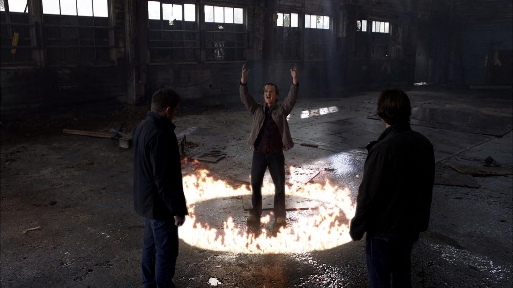 Jensen Ackles, Jared Padalecki, and Richard Speight Jr. in Supernatural (2005)