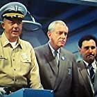 Harold Conway, Osman Yusuf, and Douglas Fein in King Kong vs. Godzilla (1963)