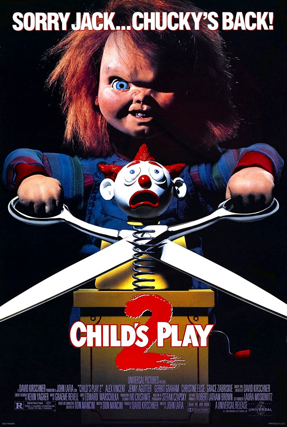 Child's Play 2 1990 Hindi Dual Audio 480p BluRay ESub 301MB Download