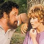 Marlène Jobert and Philippe Noiret in Alexandre le bienheureux (1968)