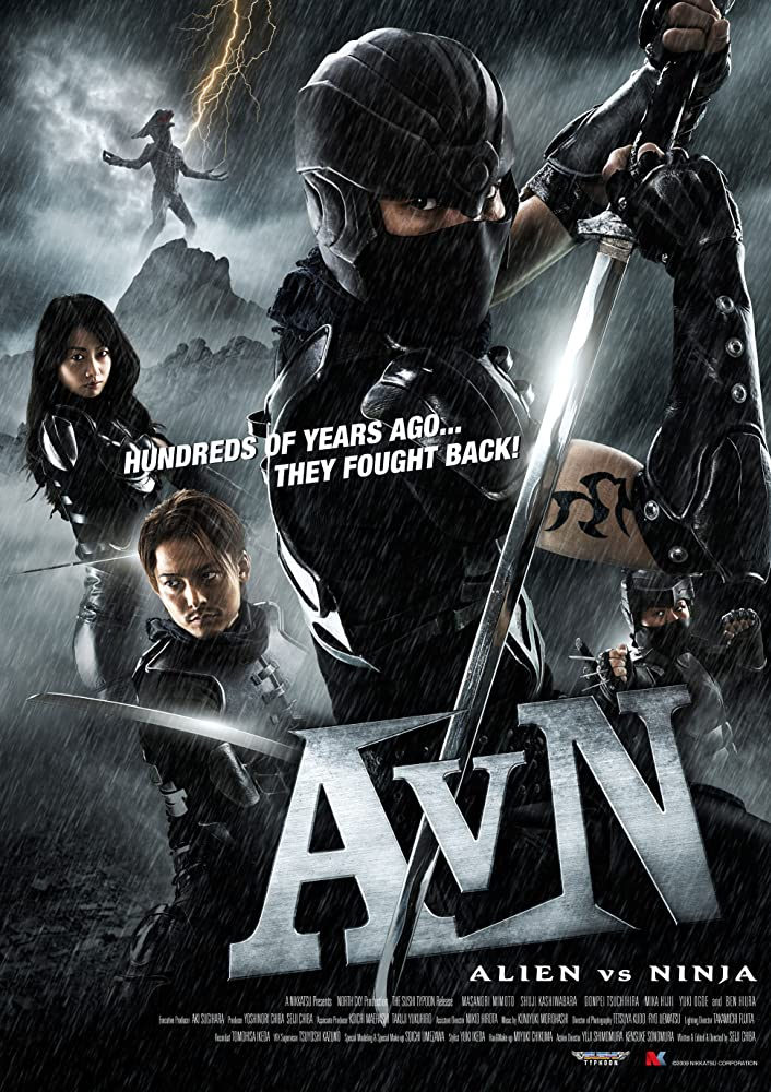 Alien vs. Ninja (2011) HDRip 720p Telugu Tamil Hindi English 750MB