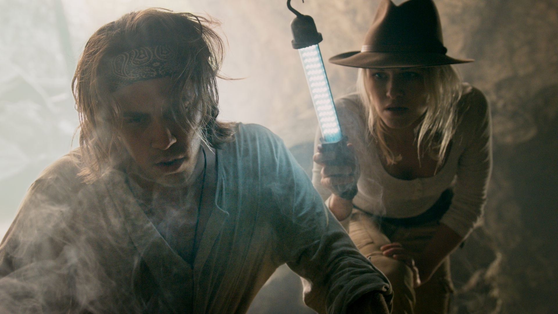 Fredrik Skogsrud and Caroline Glomnes in Benjamin Falck and the Ghost Dagger (2019)