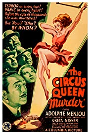 The Circus Queen Murder (1933) Poster - Movie Forum, Cast, Reviews