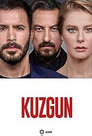 Onur Saylak, Burcu Biricik, and Baris Arduç in Kuzgun (2019)