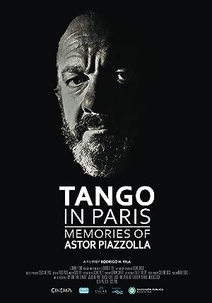Tango en París. Recuerdos de Astor Piazzolla