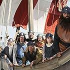 Waldemar Kobus, Christian Koch, Mike Maas, Nic Romm, Olaf Krätke, Jonas Hämmerle, Patrick Reichel, and Jörg Moukaddam in Wickie und die starken Männer (2009)