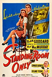 Standing Room Only(1944) Poster - Movie Forum, Cast, Reviews