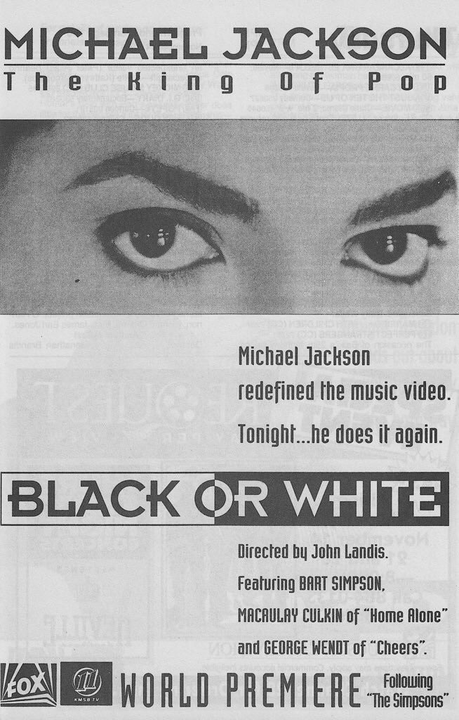 Michael Jackson: Black or White (Video 1991) - IMDb