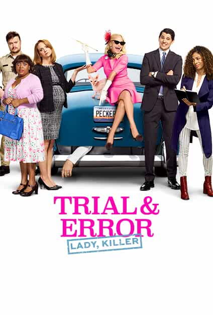 Kristin Chenoweth, Nicholas D'Agosto, Sherri Shepherd, Jayma Mays, Steven Boyer, and Amanda Payton in Trial & Error (2017)