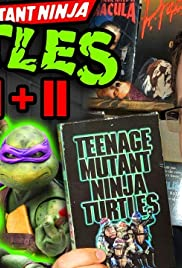 Teenage Mutant Ninja Turtles 1 and 2 - The First (and best) TMNT Films Poster