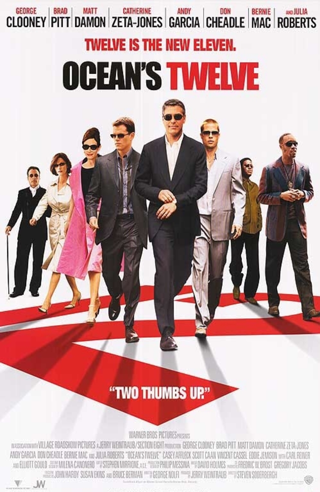 Ocean's Twelve (2004) Subtitle Indonesia