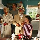 Jess Ingerslev, Niels Olsen, Sidse Mickelborg, Jakob Wilhjelm Poulsen, Kasper Ruwai Berg Kesje, and Kathrine Bremerskov Kaysen in Far til fire - på japansk (2010)