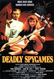 Deadly Spygames Poster