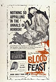 Blood Feast (1963) Poster - Movie Forum, Cast, Reviews