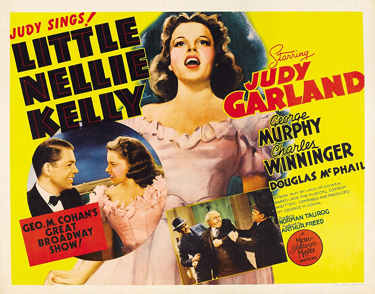 Judy Garland, Douglas McPhail, and Charles Winninger in Little Nellie Kelly (1940)