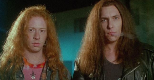 Michael Kopelow and Bradford Tatum in The Stöned Age (1994)
