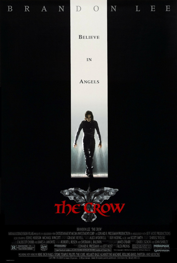 The Crow (1994) BluRay 720p & 1080p