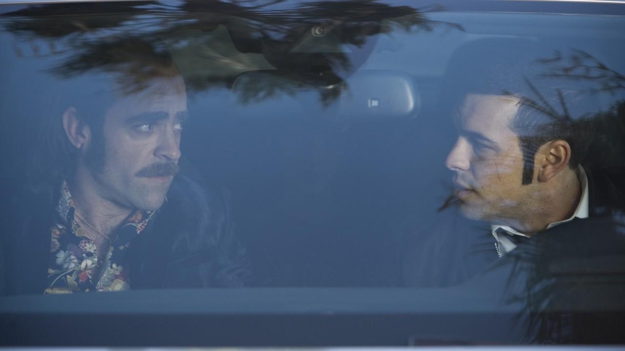 Luis Tosar and Mario Casas in Toro (2016)
