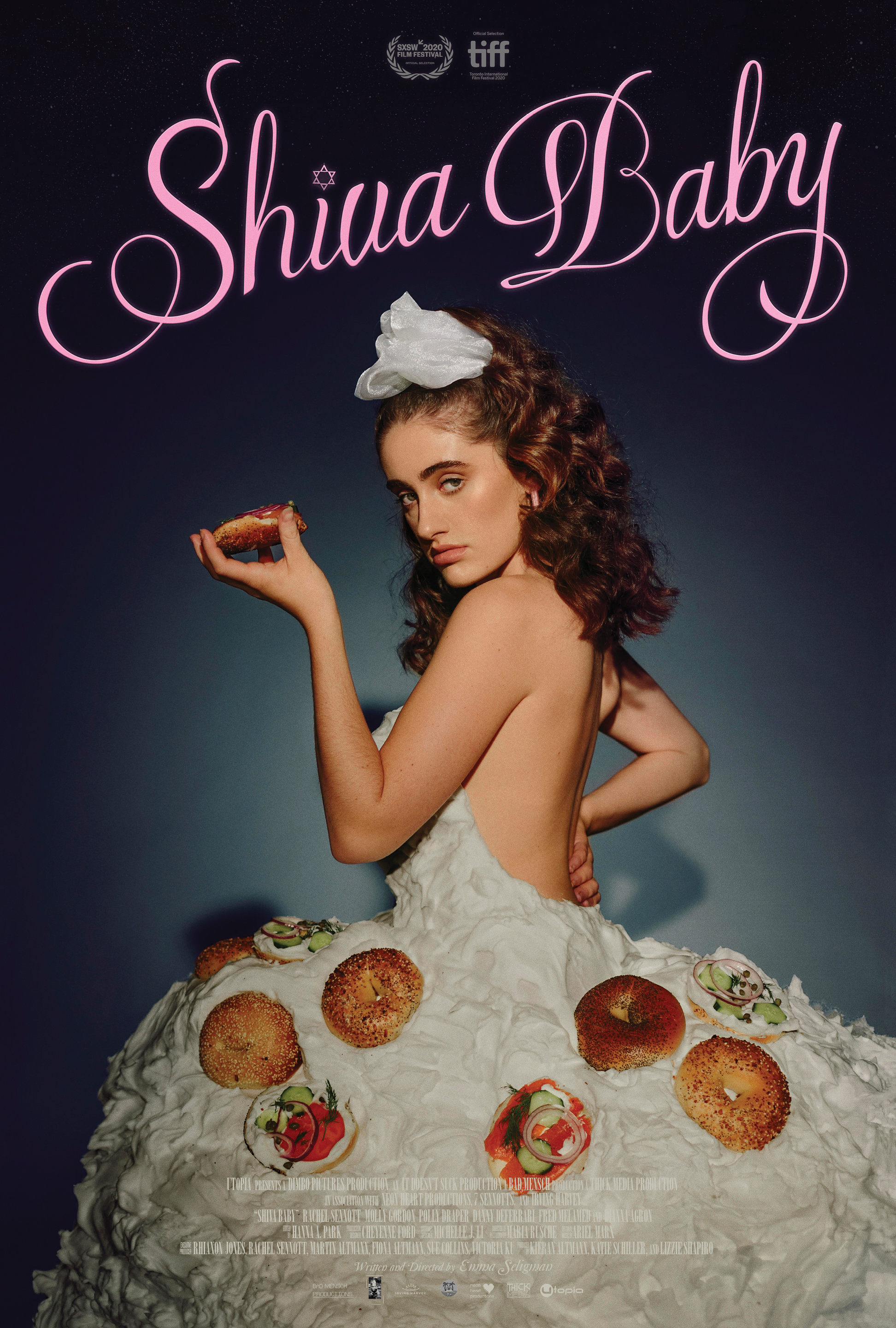 Promotional poster for SHIVA BABY