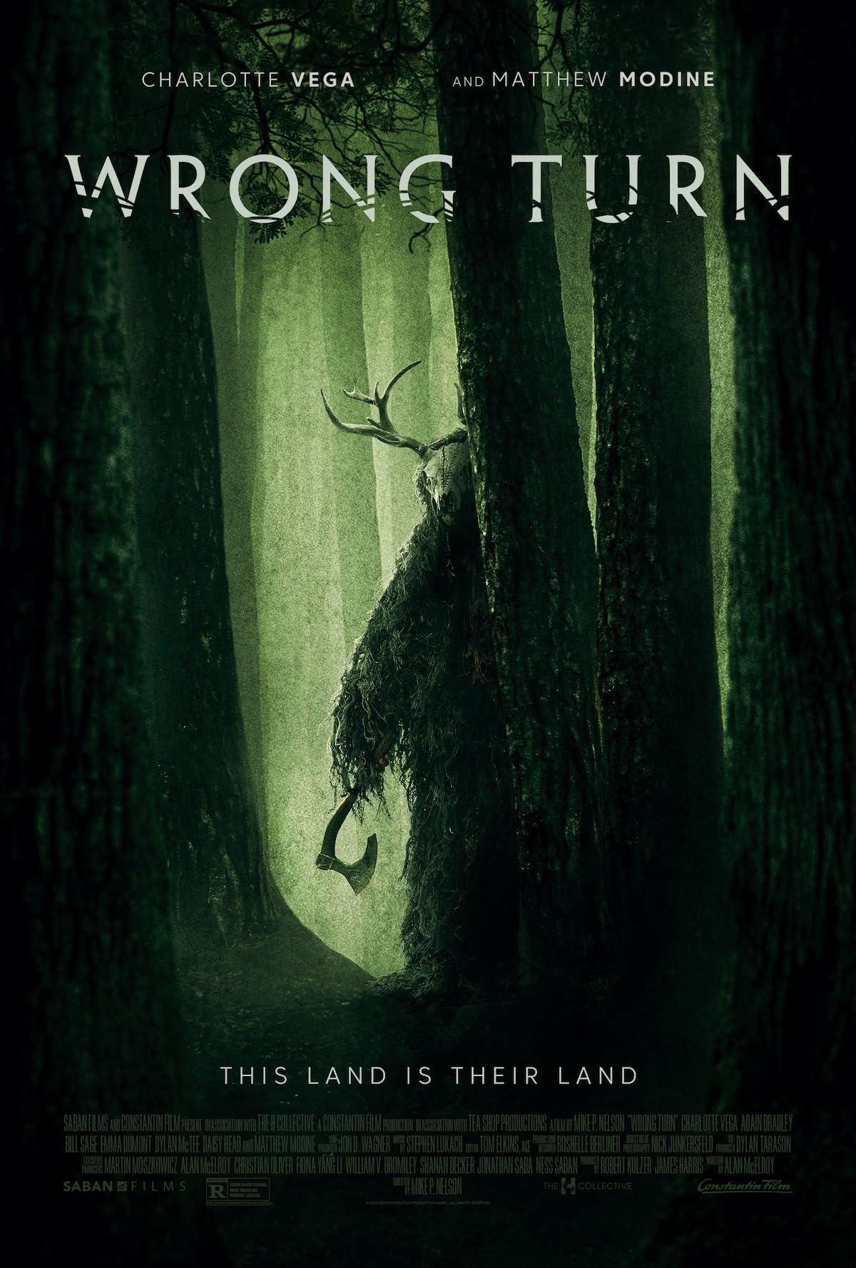 Wrong Turn (2021) English 720p HEVC BluRay  x265 AAC ESubs (600MB) Full Movie Download