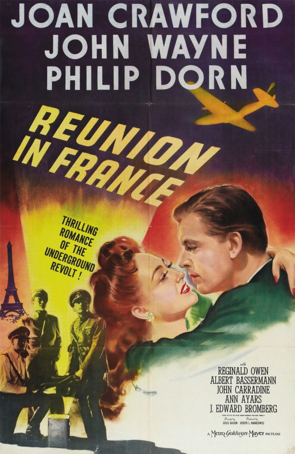 18+ Reunion in France (Jules Dassin) 1942 English 300MB HDRip Download