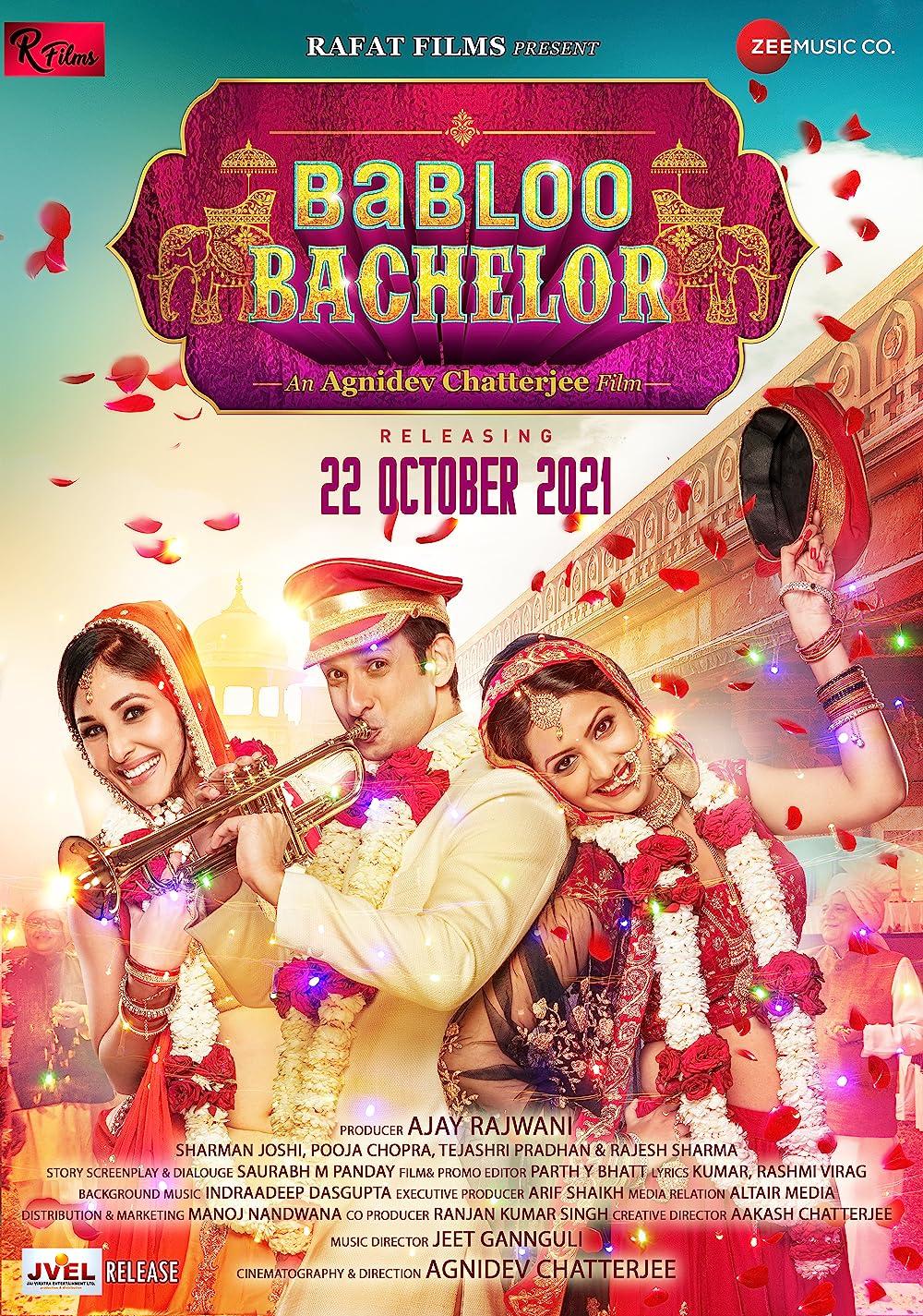 Babloo Bachelor 2021 Hindi Movie 400MB Pre-DVDRip 480p Download