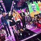 Nick Cannon, Jonas Corona, Christopher Suggs, Lillian Pravda, and Grace Callwood at an event for Nickelodeon HALO Awards 2016 (2016)